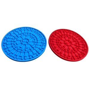 AFBC Dog Lick Pad,Slow Treat Dispensing Mat,Dog Bath Toys Pet Lick Pad Washing Distraction Device,Training-Just Add Peanut Butte