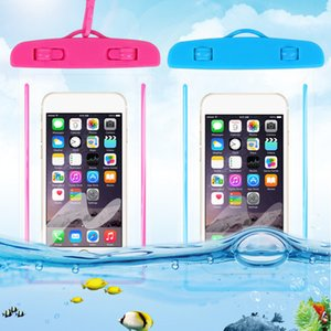 Sport Swimming Bags Summer Waterproof Pouch Luminous Swimming Bags Beach Dry Phone Case Cover Camping Skiing Holder For Cell Phone