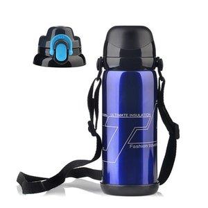 Bottiglia di sport esterni Thermos di acqua personalizzata in acciaio inossidabile boccetta di vuoto Thermos termica tazza di caffè di viaggio Camping Car Thermos
