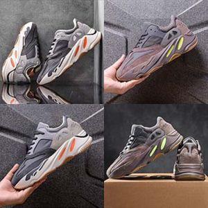 2020 Новый стиль Дети Ребенок Candy Solid Colors Дети Kanye West 700 Kanye West 700 Обувь для мальчиков Кроссовки девушки Canvas Kanye West # 546