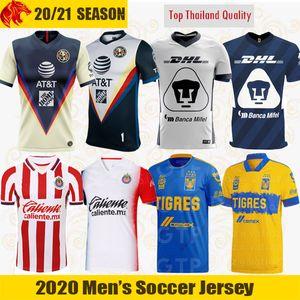 20 21 قمصان نادي أمريكا لكرة القدم بوماس أونام 2020 تيغريس UANL الدوري الاسباني MX شيفاس دي غوادالاخارا لكرة القدم قميص سانتوس لاجونا جيرسي