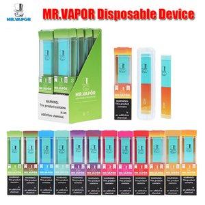 MR.VAPOR Einweggerät MR Vapor Vape Pen Pods Starter Kit 280mAh Akku 1,3 ml-Patronen 400puffs E Zigarette Air Vaporizer