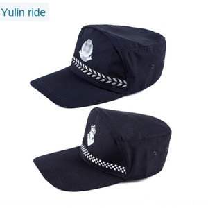 New security training security hat men's general property safety helmet safety helmet hotel guard combat cap formal suit cap