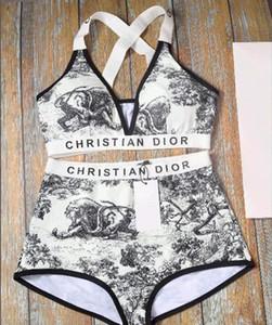 2020 Sexy Bikini Set Женщины Твердые бинты бикини Купальники Hollow Summer High Cut Купальник Tube Top купальный костюм Женский Пляжная