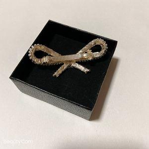 Vintage Bug Pearl Strass Spring Clip C Haarnadel Seite Clip Pony Clip Für Damen Kollektion Luxus Haarschmuck Artikel VIP Geschenk