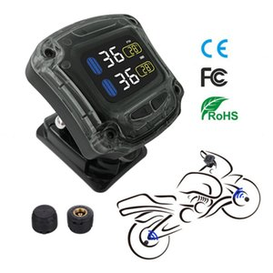 Tire Pressure Monitoring System TPMS Wireless Tire Pressure Monitoring Motorcycle Tires Motor Bicycle Auto Tyre Alarm car