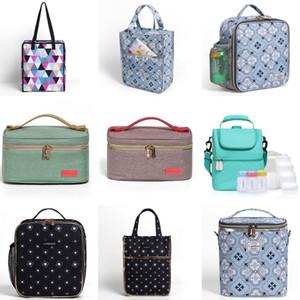 Landuo Kinder Insulated Lunch Bag Thermal Lunchbox Taschen Mama Cooler Picknick Essen Mittagessen Handtasche für Frauen Kinder MPBJ07 T200710