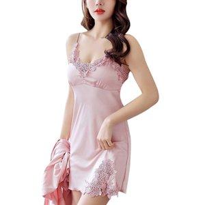 المرأة الجديدة Sexy Lace Lingerie Lingerie Robe Doll Nightie Dress للنساء Nightie NightoGown Eafmn