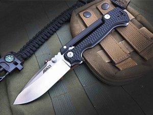 Nouvelle arrivée OEM Cold Steel survie AD-15 tactique couteau pliant S35VN point de chute satin lame noire G10 + T6061 poignée en aluminium