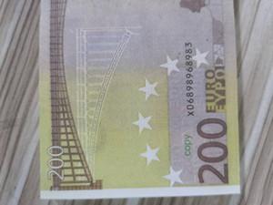 Деньги бар проп игрушки Банкнота-наборы Коллекция Fake-бумага Евро 2pcs в for10 / 20/50/100/200/500 Novelty9