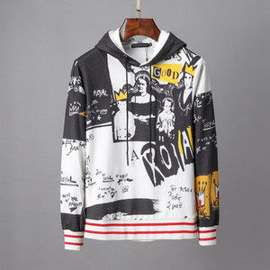 Fashion printed sports sweatshirt Italy Autumn Fashion Men Women Future Hoody long sleeve Story Sweatshirts Cotton Hooded Pullover Hoodie