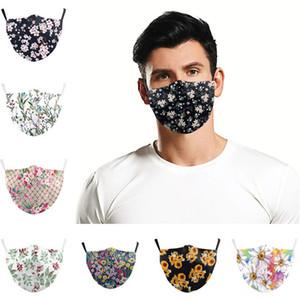 Face Mask 3D Máscaras Anti poeira protetor respirador lavável reutilizável Nacional Anti Flag algodão Boca Máscaras 9 Cor 300pcs T1I2178