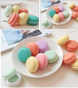 Yeni Şeker Renk Macaroon Mücevher Kutusu vaka Paketi İçin Küpe Yüzük Kolye kolye Mini Kozmetik Takı Ambalaj