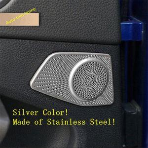 Lapetus 측면 후면 도어 상단 스테레오 스피커 오디오 사운드 스피커 커버 트림 맞춤 Q3 2019 2020 자동차 액세서리 31nT 번호