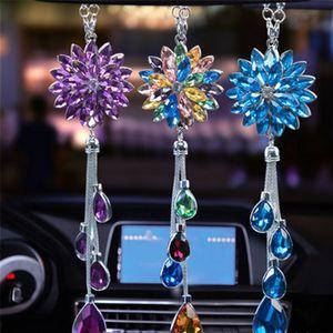 Car Decoration Car Pendant Crystal Pendant Ornament Decoration Gifts Interior Accessories