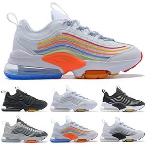 ZM950 mujeres de los hombres de los zapatos corrientes 950 zapatilla de deporte de calidad superior Triple Core Negro Blanco Lobo gris para mujer para hombre zapatillas de deporte de los formadores
