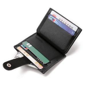 Hot Sales New fashion Elegant men PU leather mini wallet short long luxury purse card holder burse small zipper bag