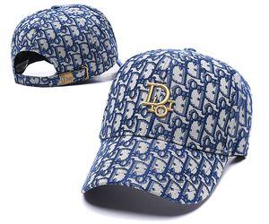 Top-Stickerei Mensentwerfer Baseball-Kappen Hüte Baseball-Kappen Marke Hüte Stickerei Männer Frauen Marke Cap Beliebte Paar casquette