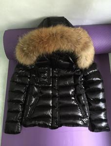 hot sale new Women Winter 90% White Duck Down Jacket Designer Lady Zipper Short Hooded Winter Outerwear Warm Coat XS-3XL
