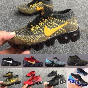 Nike Vapormax flyknit air max  2019 baby kid Knitting Portable Kids Running Shoes Children 2018 cushion KPU Sports Shoes Boys Girls Training Sneakers 28-35 freeshipping H
