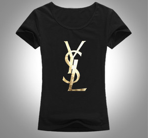 Hot sale Designer T Shirt For Women Tshirts yls Letters Printted Fashion Short Sleeve Lady Tee Shirt Casual Tops Clothing 7 Colors S-XL