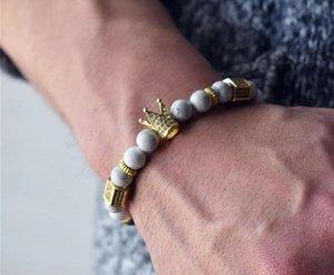 Royal Natural Matte Agate stone Beaded Handmade Healing Energy Wrist Bracelet for Men and Women Medium K2606