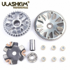 Free Shipping Motorcycle Clutch Variator Drive Pulley Assembly For WH100 WH100T A H F H G SCR100 GCC100 Q z7mu#