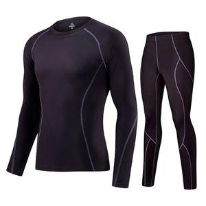 Eğitim Koşu Suits Giyim nel uomo sportif Koşu Lidong Yeni Spor Sıkıştırma İç Giyim Spor Suit Erkekler