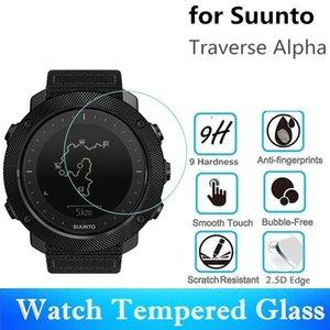 10pcs vidro temperado Para Suunto Traverse Alpha tela anti-scratch Diâmetro 39 milímetros película protetora