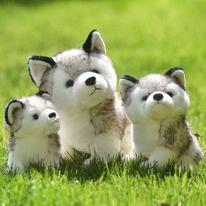 Cute Trumpet Husky Stuffed Toy Cartoon Animal Dog Plush Toys Children Appease Doll Girl Birthday Gift