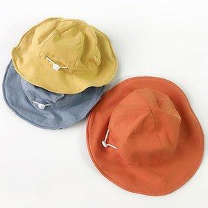 Neue Sommer-Hut-Kind-Mädchen-Strand-Panama-Hut im Freien Wide Brim Kindern Toddler Visor Bucket Mädchen Sun Caps Muts