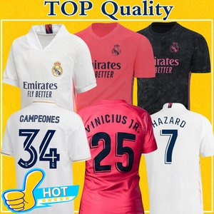 Camiseta Real Madrid jerseys 2021 camiseta de fútbol madrid PELIGRO DE SERGIO RAMOS BENZEMA maillot de pie camiseta de fútbol Camiseta de fútbol 20 21