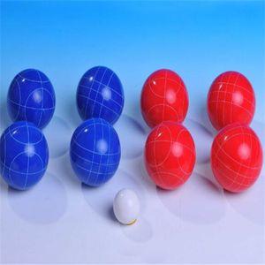 Top quality 8balls set Resin polyurethane material ground ball lawn bowling ball Grassland Bowling ball free shipping