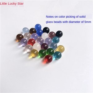 5mm glass beads colorful marble jewelry eye decoration gift toy Marble Jewelry Crystal experiment ball crystal ball