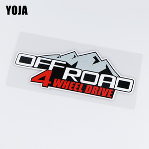 Cheap Car Stickers Yoja 17.6X9CM 4X4 OFF ROAD The Four Wheeler Interessante carro adesivos de vinil decalque Decor ZT3-0008