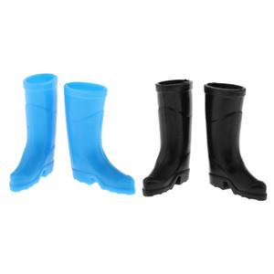 1 12 Dollhouse Miniature Plastic Rain Boot Shoes Home Garden Decors