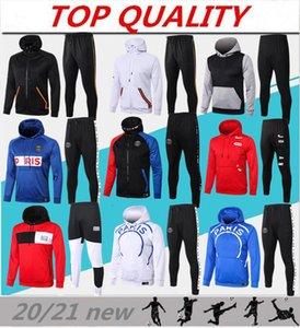 survêtement de football de qualité supérieure PSG 2018 2019 veste à capuche survetement 17/18/19 CAVANI MBAPPE blousons à capuche de football paris
