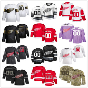 Detroit Red Wings Jerseys Men Women Kid Steve Yzerman Gordie Howe Tyler Bertuzzi Filip Hronek Justin Abdelkader Luke Hockey Custom Jerseys