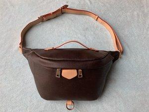 20 нового оптового нового способа Pu Leather Brown цветок сумки Женские сумки конструктора Фанни пакеты мешок Известные талии сумки сумки Lady Пояс Грудь
