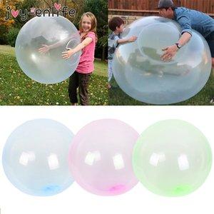 130 centímetros 2020 Big mágica bolha bola Crianças Outdoor Soft Water Air Filled bolha surpreendente balão Squeezable Balls Kids Brinquedos