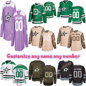 Custom 2020 News Dallas Stars Hockey Jerseys Multiple styles Mens Customize Any Name Any Number Hockey Jerseys