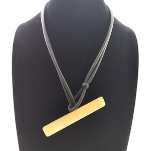 YD&YDBZ Pendant Necklace For Women Fashion Rubber Jewelry Geometric Long Necklaces Silver Plated Gold Accessories Festival Gifts