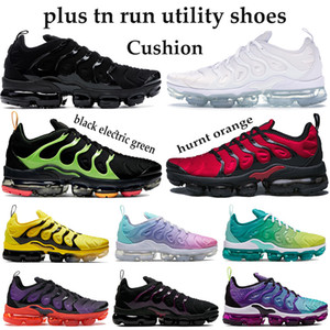 Rainbow TN Plus Triple Black Wolf Gris Hommes Femmes Chaussures De Course Brand New Bumblebe Hommes Chaussures Shark Dent Sport Sneakers