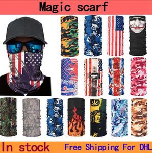 Велоспорт шарфа бандан волшебных шарфы солнцезащитного диапазон волос спорт головной убор оголовье многофункциональная заказной шарф бесплатная доставка LJJA5370
