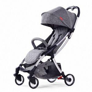 Playkids US-8 складного легкого ребенка коляски складной младенца PRAM One Hand складывание и открытие 68BX #