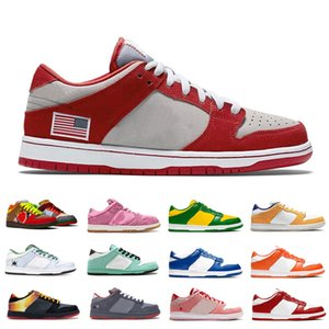 los zapatos del patín de baloncesto clásicos para mujer para hombre muchachos desagradables Staple NYC Mar Pigeon Crysta Champs mujeres de los hombres mejores zapatos de las zapatillas de deporte