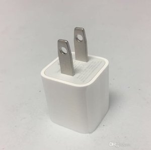 Top High Quality White USA USB AC Travel Wall Power Adapter US Plug Charging Charger Adapter For iphone iphone6 i 5 6 7 8 X iphone
