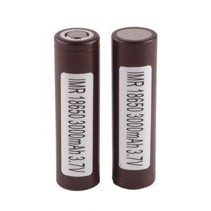 LG Hg2 18650 3000 mAh batería recargable para LG Hg2 18650 3000 mAh batería de litio uso de cigarrillos electrónicos VS VTC5