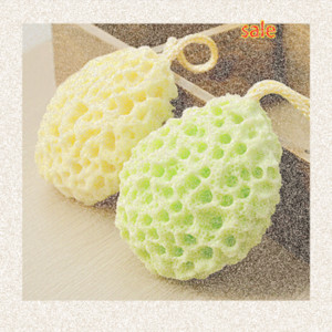 2016 Hot Bath Scrubber Shower Spa Sponge Body Cleaning Scrub Free Shipping Random Colors Bath Ball 3ks2#