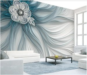 3D Wallpaper mural stickers photo custom Atmospheric creative relief stripe line modern fashion 3d background home decor wall art pictures